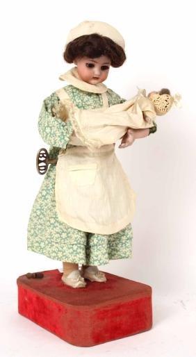 Simon Halbig Mother and Child Automaton