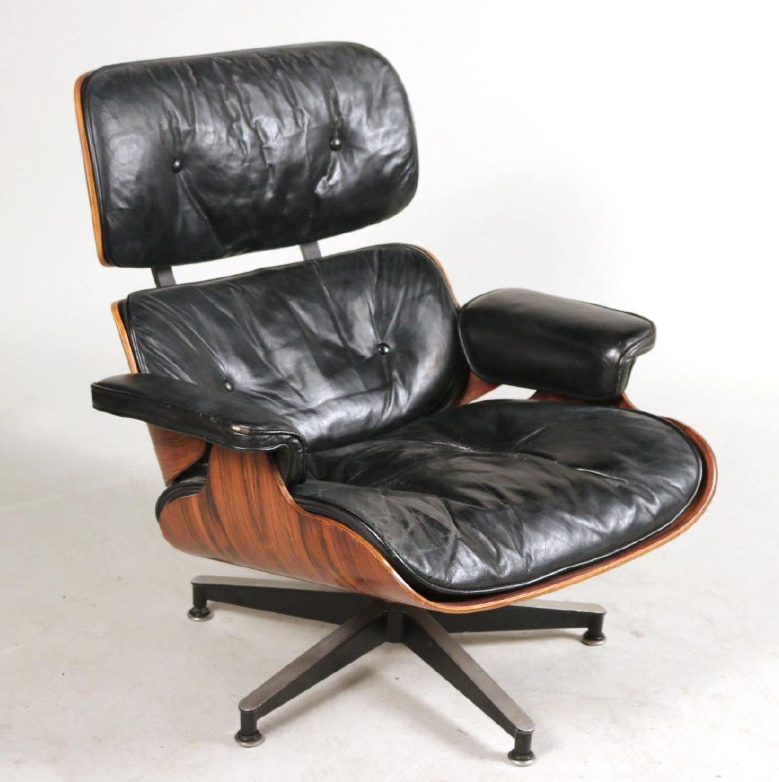 Herman Miller Eames Lounge Chair and Ottoman - 2