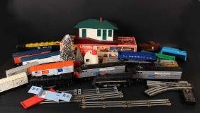 Large Group of Lionel Trains and Accessories