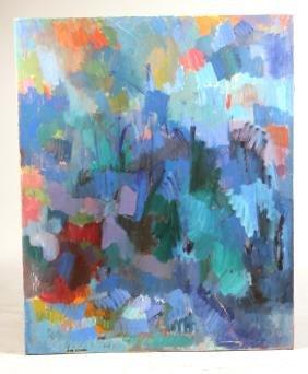 Oil on Canvas, Towards Evening, Hyde Solomon