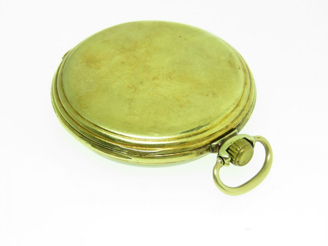 VINTAGE HAMILTON POCKET WATCH, 14K GF, 17 JEWELS - 2