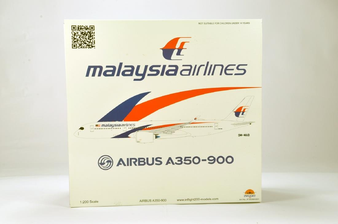 Inflight Models 1/200 Airbus A350-900 Airliner.