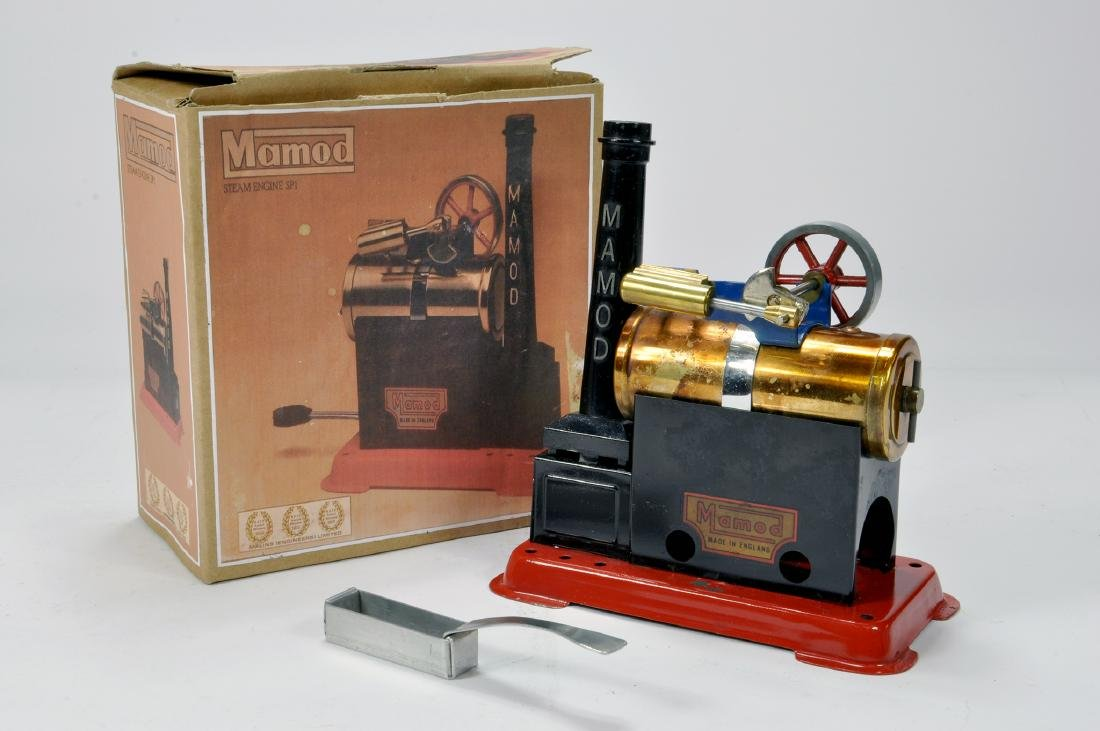 Mamod Live Steam Engine SP1. Early issue is complete