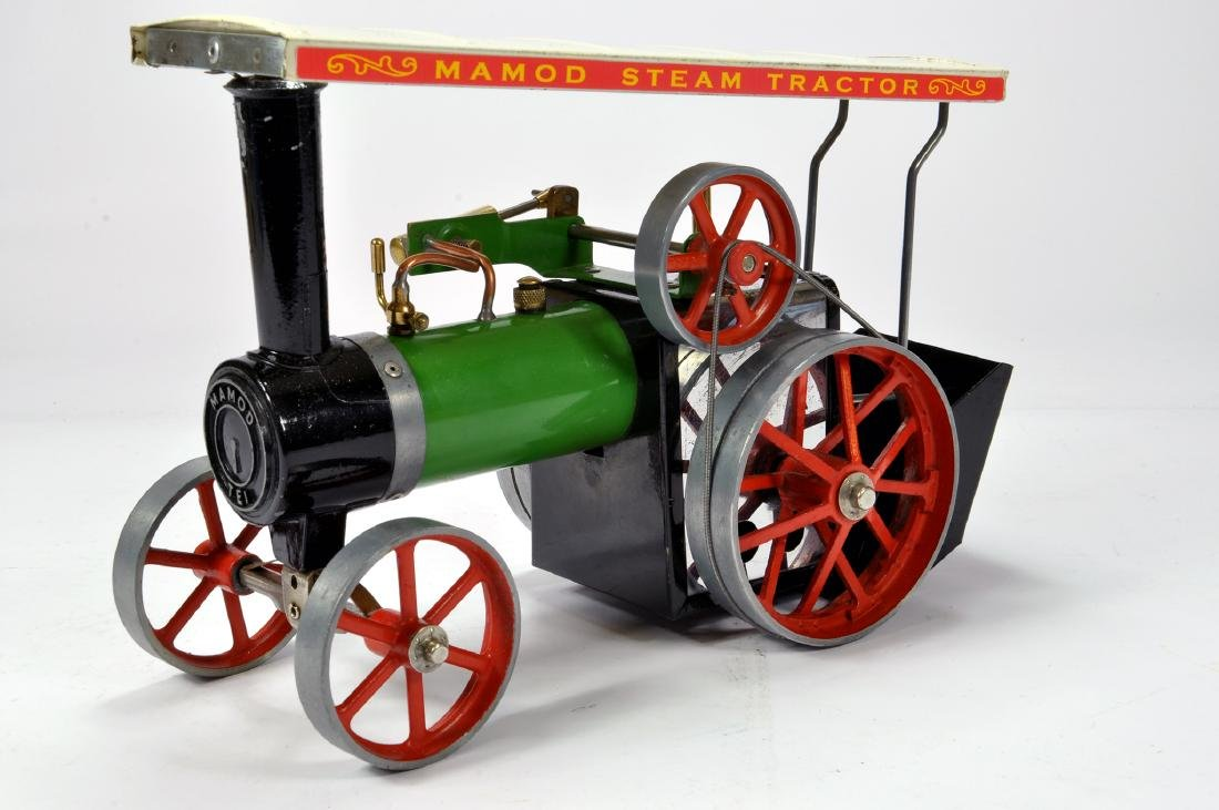 Mamod Live Steam Traction Engine TE1A Tractor.