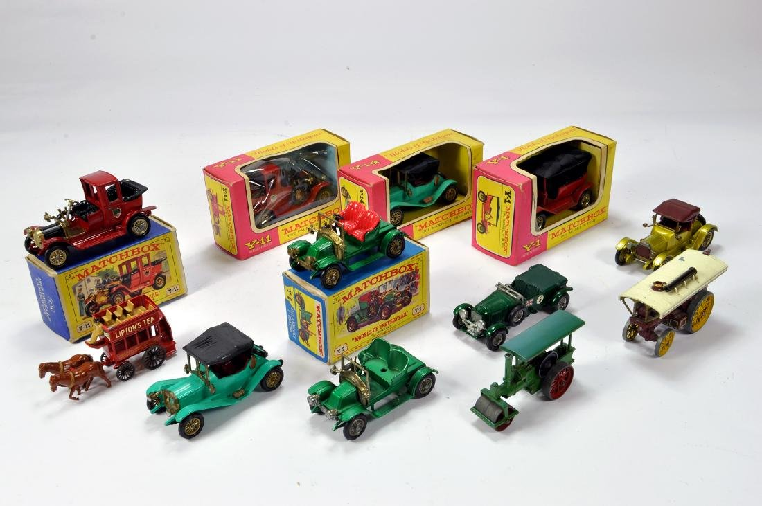 An interesting group of early Matchbox Models of