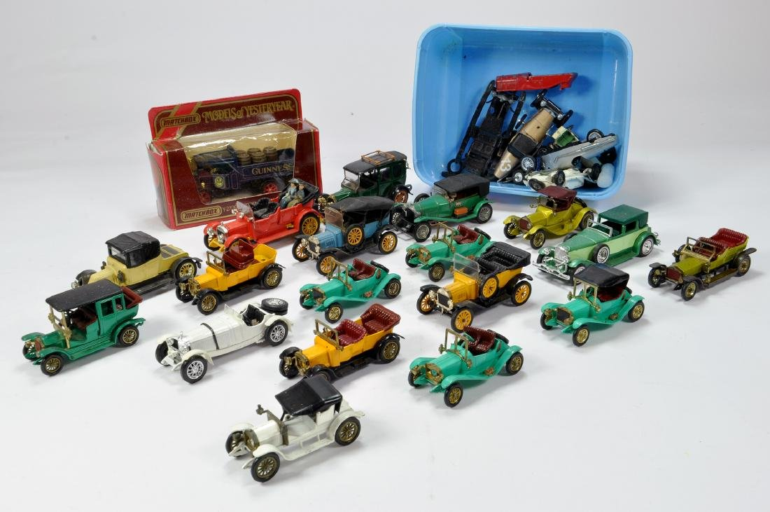 An interesting group of mainly early unboxed Matchbox