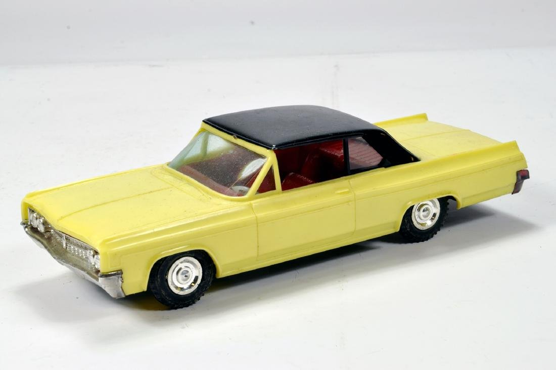Plastic Empire Made large scale model of a Cadillac in