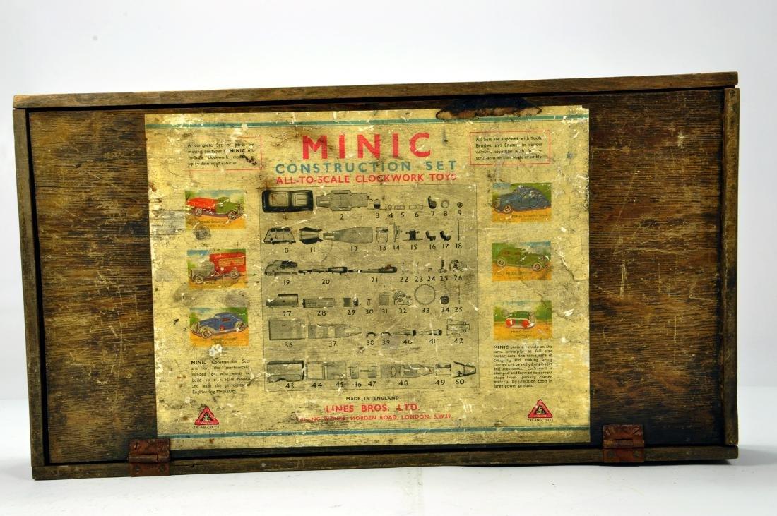 Triang Minic No. 64M empty Construction Set Box. Some