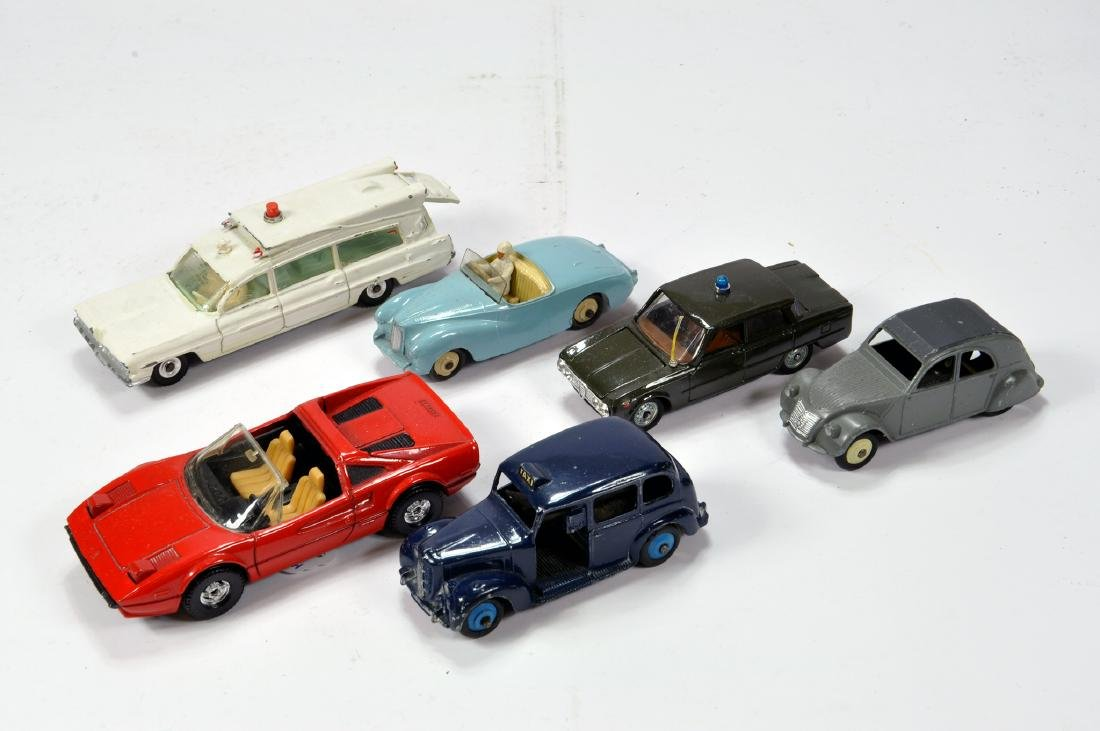 Misc group of diecast models comprising French Dinky