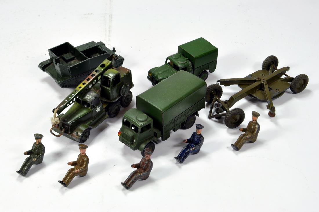 An assortment of Military models from various makers,