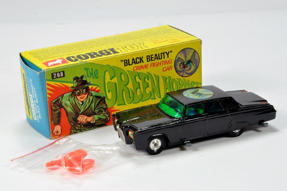 Corgi No. 268 The Green Hornet Black Beauty. Lacks