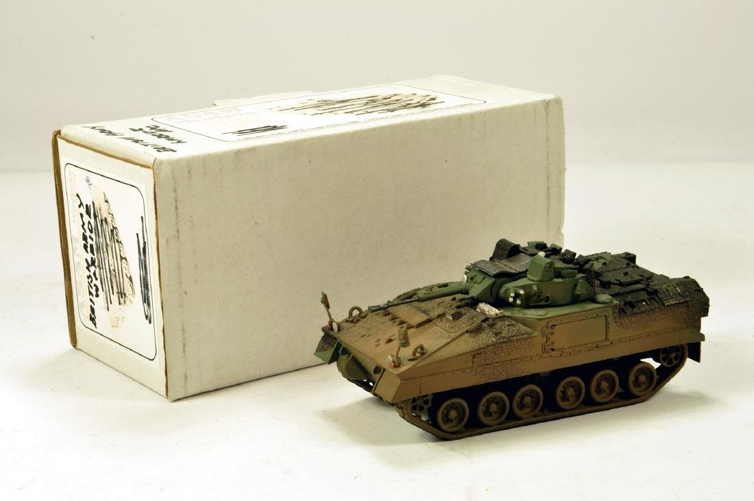 ASAM Models 1/48 White Metal British Army Warrior