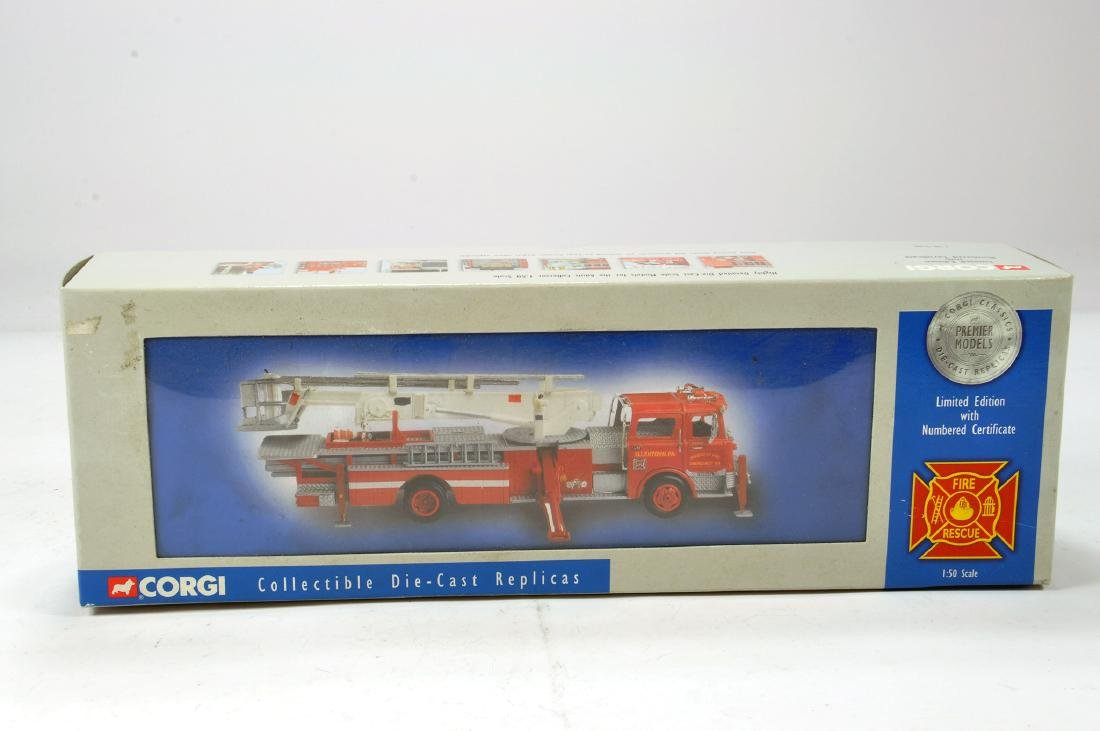 Corgi Diecast 1/50 Fire Engine. NM to M in Box.