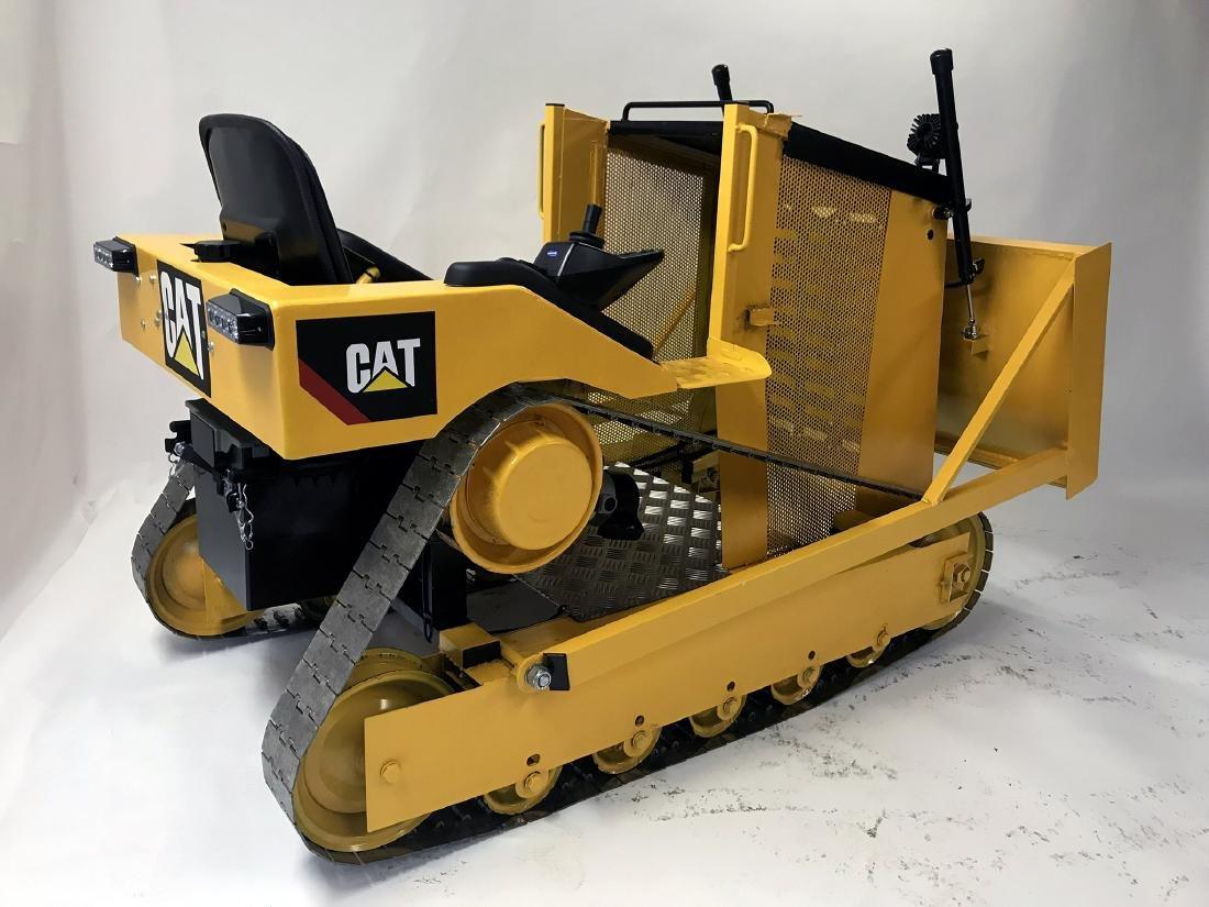 Hand Built Electric Caterpillar Bulldozer. Vendor