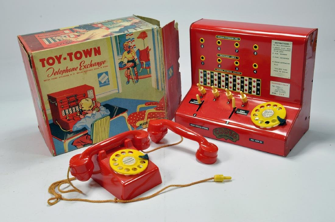 A Codeg Toy Town Telephone Exchange. This well