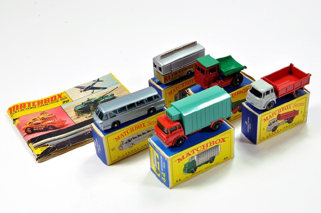 A quality selection of Matchbox comprising No. 40 Long