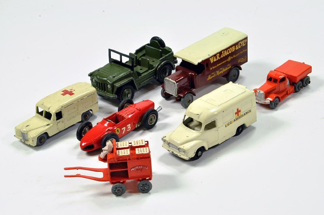Misc diecast group comprising Matchbox and others. F to