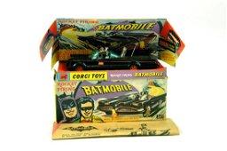 Corgi No. 267 Batman Batmobile finished in black with