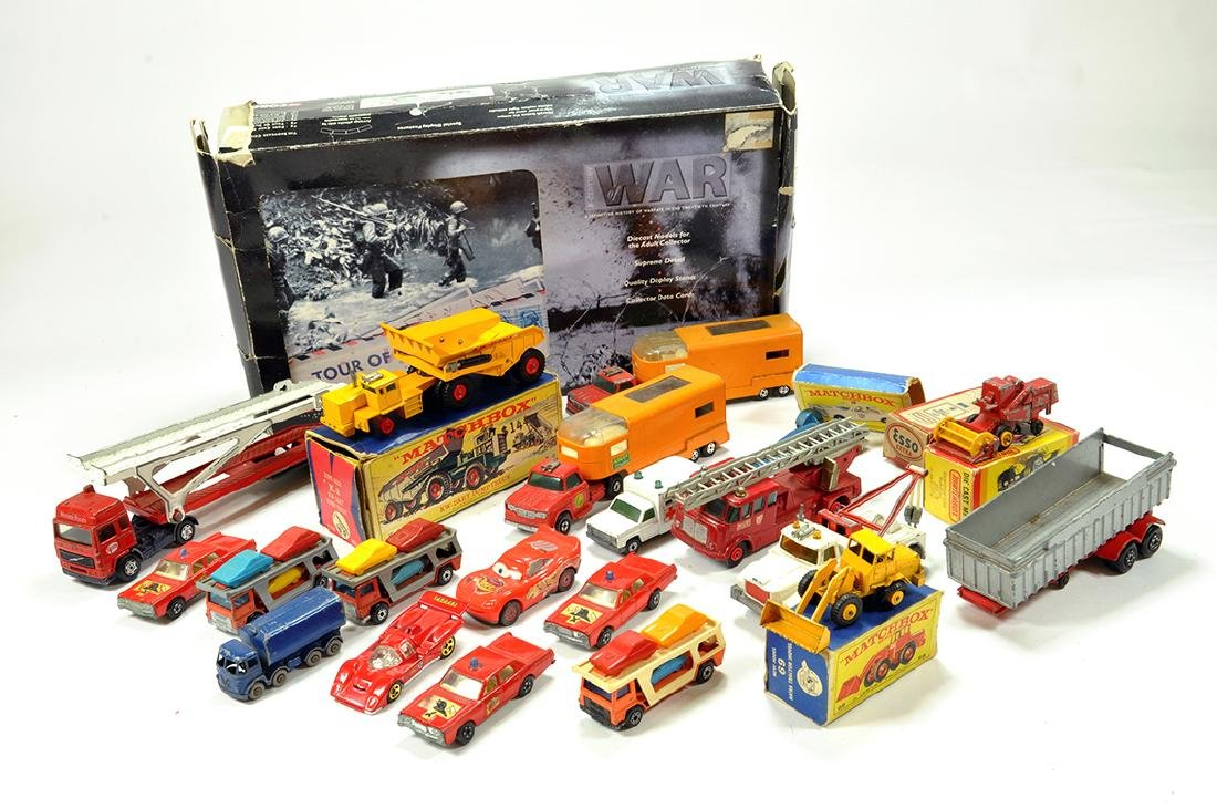 Misc Diecast group comprising mainly Matchbox. F to VG.
