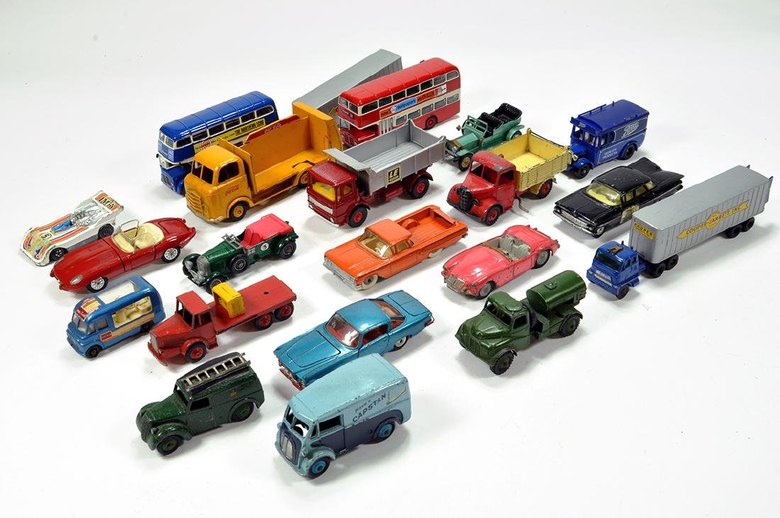 Unboxed diecast group including various makers. Dinky,