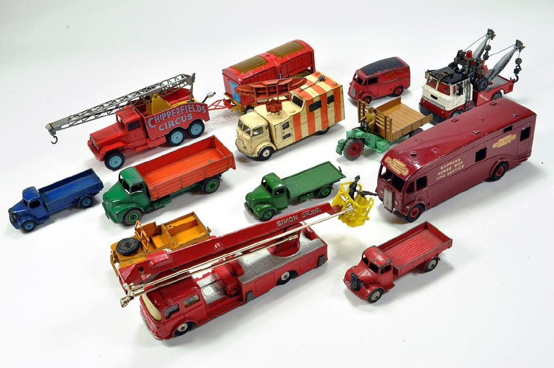 Unboxed diecast group including various makers. Mainly