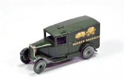 Dinky No. 28K Pre-war Delivery Van Marsh's Sausages.