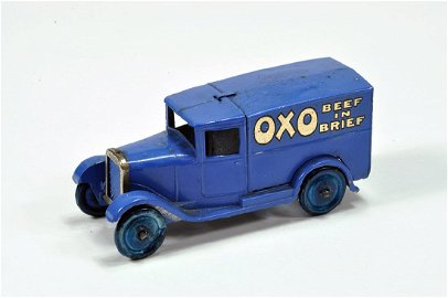Dinky No. 28D Pre-war Delivery Van OXO. Blue with