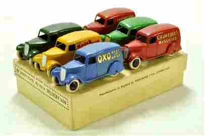 Dinky Pre-war No.28/2 Trade Box (A1009) circa 1935 for