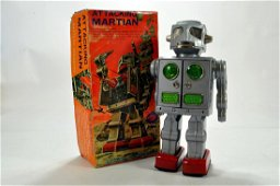 SH (Japan) Attacking Martian tinplate and plastic