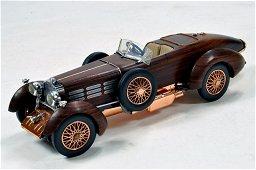 Franklin Mint 1/24 1924 Hispano-Suiza Tulipwood.