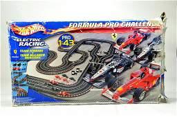 Hot Wheels Formula Pro Challenge Slot Car Racing Set.