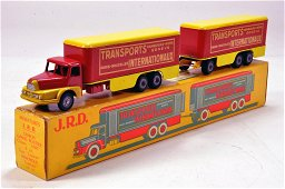 JRD No. 127 Transports Internationaux Truck and Trailer