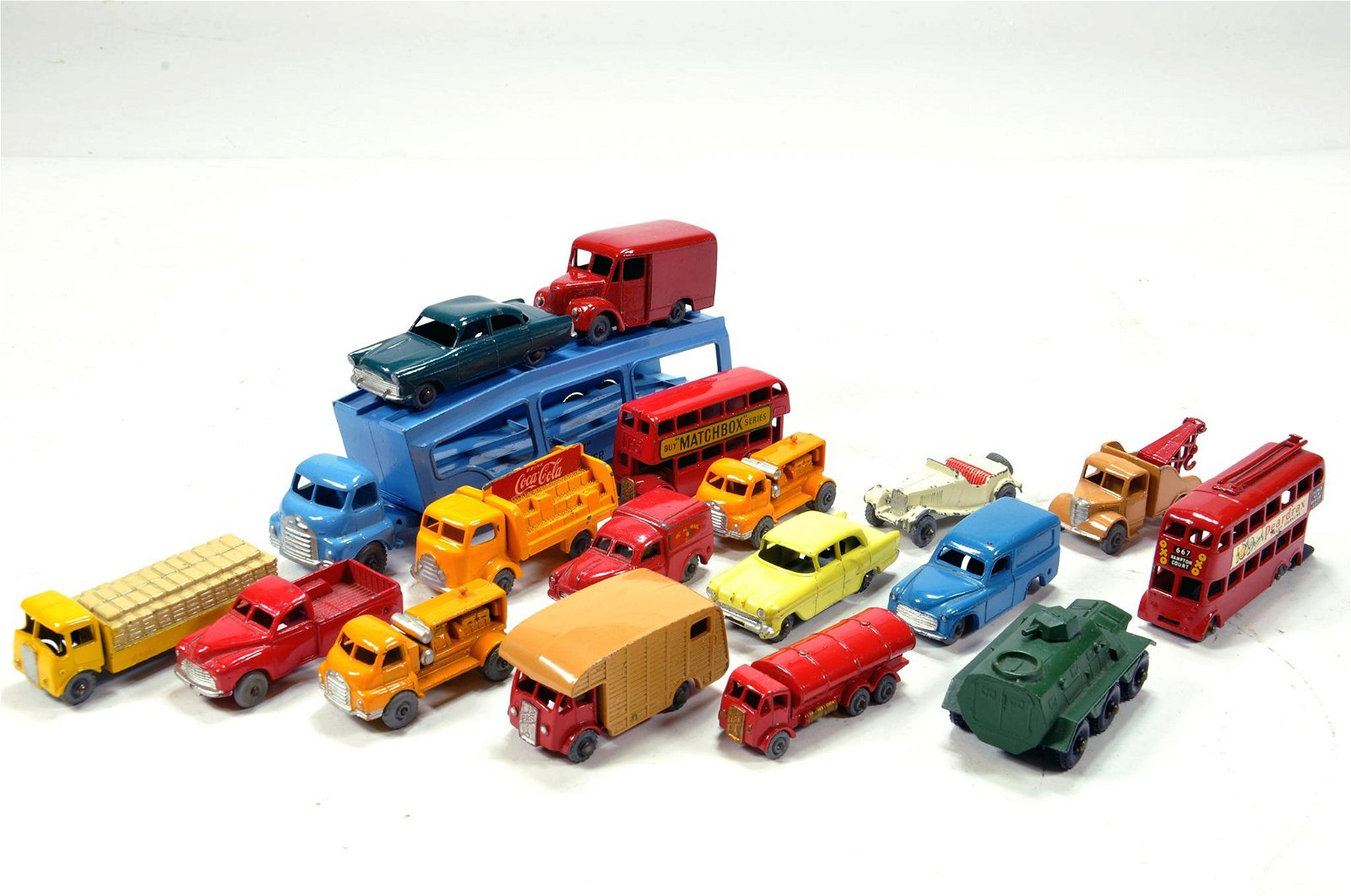 Early issue Matchbox diecast group comprising various