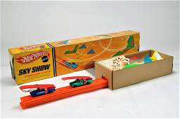 A Scarce Hot Wheels Sky Show Set complete with Redliner