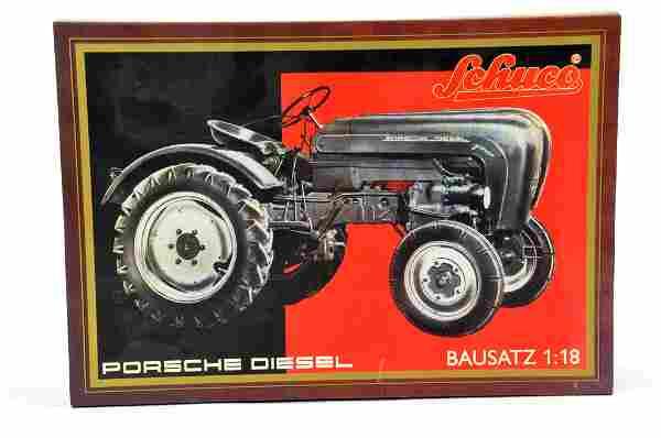 Schuco 1/18 Porsche Diesel Tractor Kit. Rare. Complete.