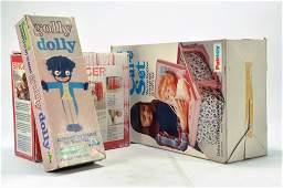 Palitoy retro Tiny Tears Care Set plus Golly Dolly Kit