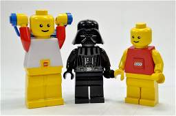 Trio of Large 20cm + Lego Figures including Star Wars