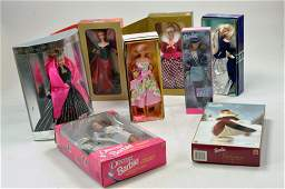 Interesting Barbie group comprising various harder to