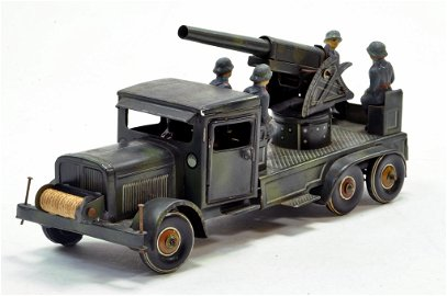 Tipp & Co Model No. 176 Fliegerabwehrauto Anti-Aircraft