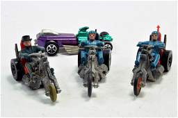 Trio of Hot Wheels Rumblers plus one other. Generally