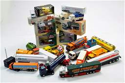 Interesting large group of commercial diecast