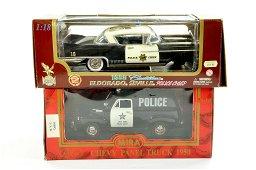 Road Legends 1/18 diecast Cadillac Eldorado Police Car