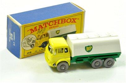 Matchbox Regular Wheels No. 25c Bedford TK BP Tanker.