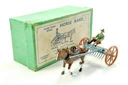 Britains No 8F Home Farm Series Farm Wagon Horse Rake