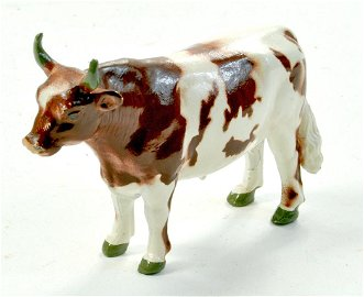 Britains No. 784 Ayrshire Bull. Superb example is