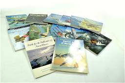 Large group of reference books relating to Aircraft
