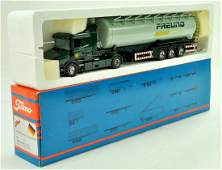 Tekno 150 diecast truck issue comprising Scania Tanker