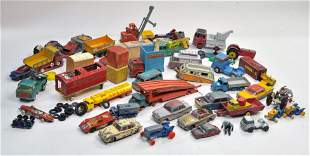 Playworn diecast group comprising various makers.
