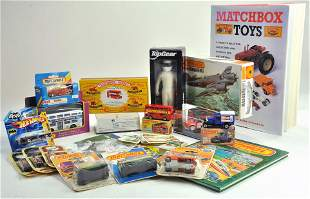Misc diecast group, various makers including Matchbox