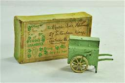Mickey Mouse Organ Grinder from Charbens, in green.